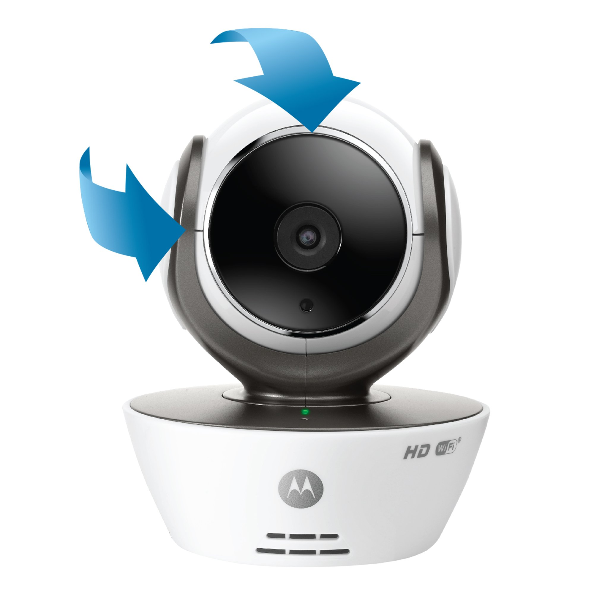 Motorola MBP853CONNECT-2 Dual Mode Baby Monitor with 2 Cameras and 3.5-Inch LCD Parent Monitor and Wi-Fi Internet Viewing by Motorola Baby (Image #5)