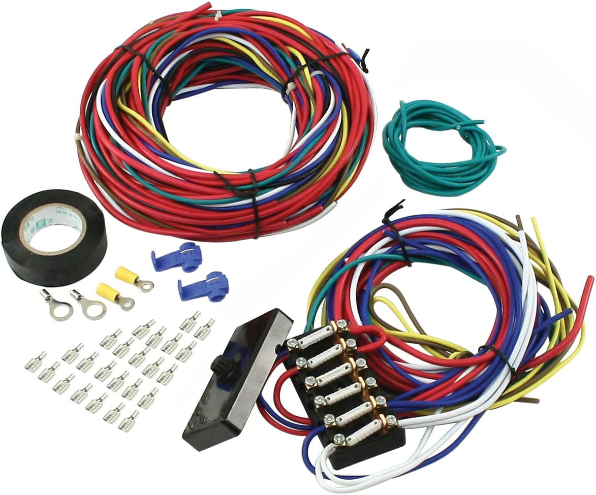 [EQHS_1162]  Amazon.com: EMPI 00-9466-0 WIRE LOOM KIT, VW BUGGY, SAND RAIL, UNIVERSAL:  Automotive | Meyers Manx Wiring Harness |  | Amazon.com