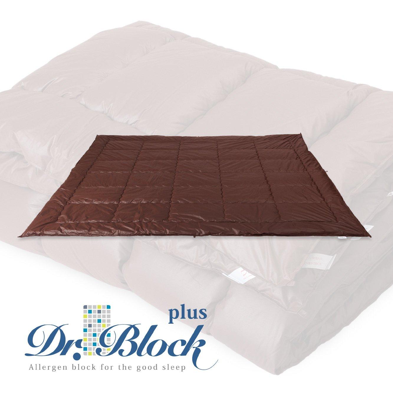 ドクターブロック Dr.Block 国産  防ダニ 肌布団 ダブルサイズ B06XDMMDF4
