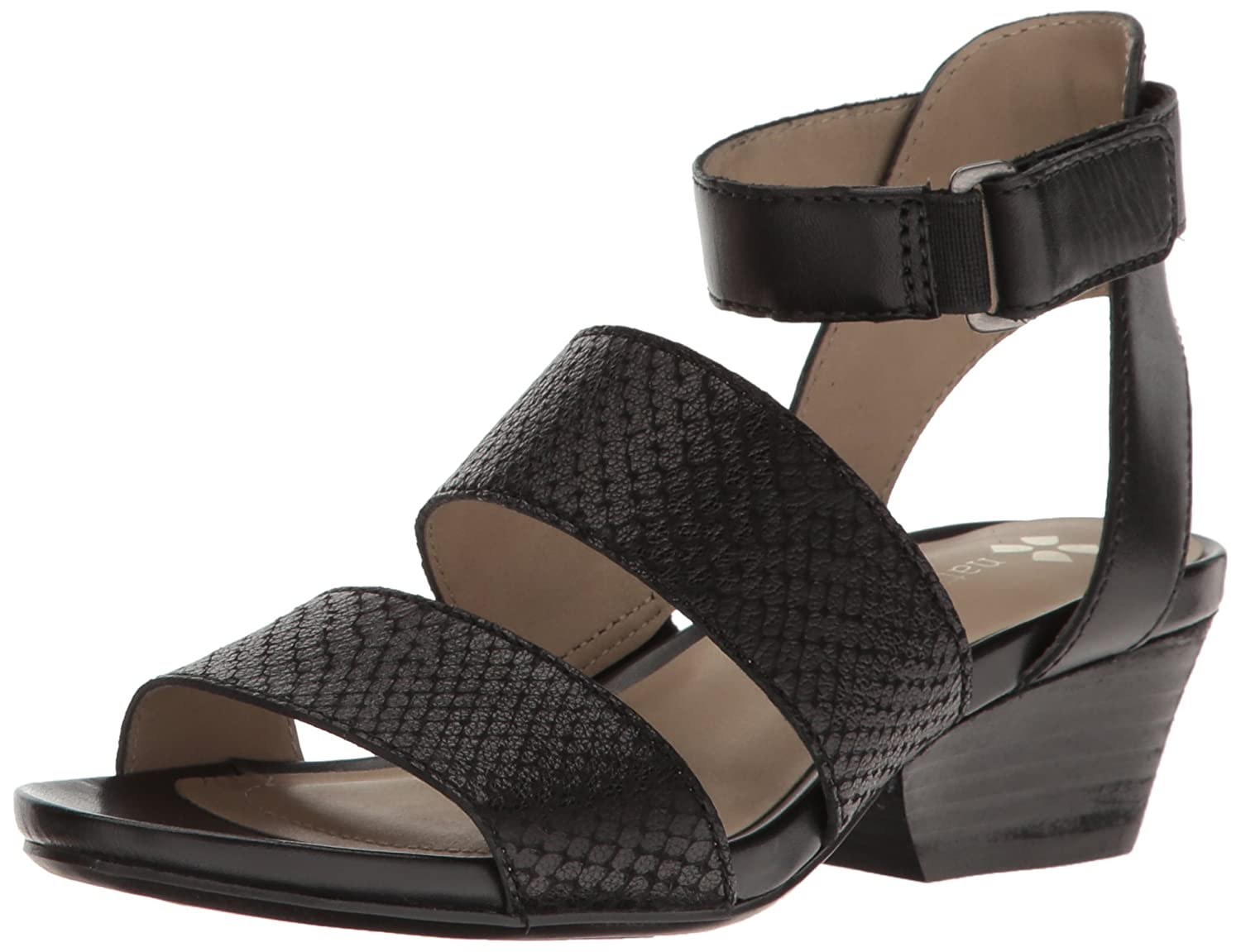 Black Naturalizer Womens Gracelyn Heeled Sandal