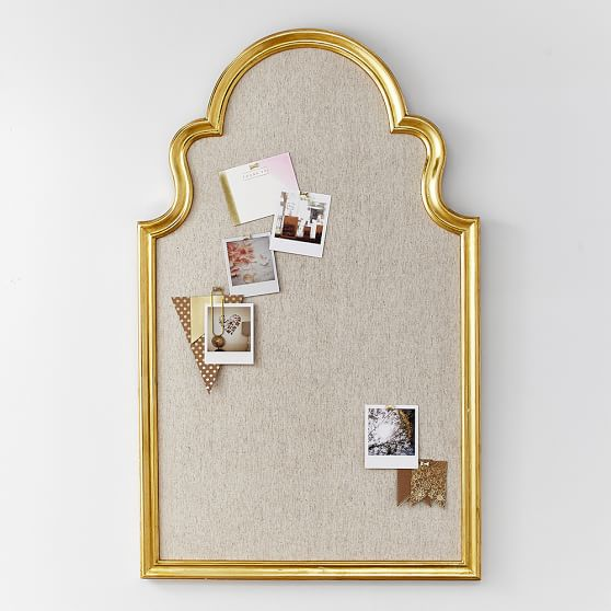 Arch Pinboard, Gold | PBteen