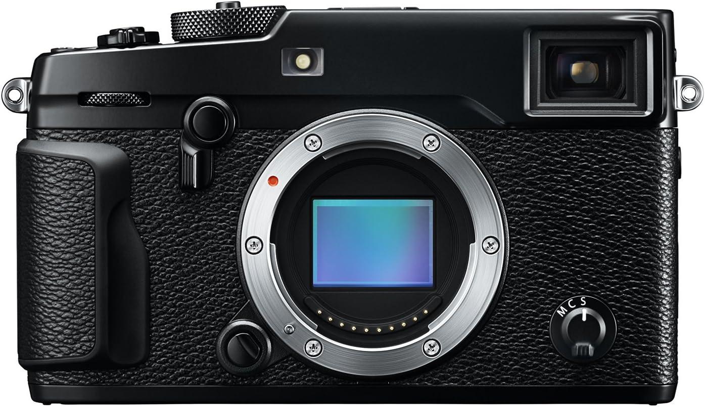 Fujifilm X-Pro2 - Cámara digital (Auto, Modos personalizados, Batería, Cuerpo MILC, TTL, 24.3MP 6000 x 4000 pulgadas, Negro)