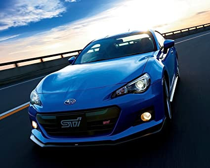 Amazon.com: Subaru BRZ Póster de coche cartel decoración de ...