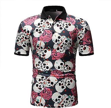Rabusion - Camiseta de Manga Corta para Hombre, diseño de ...