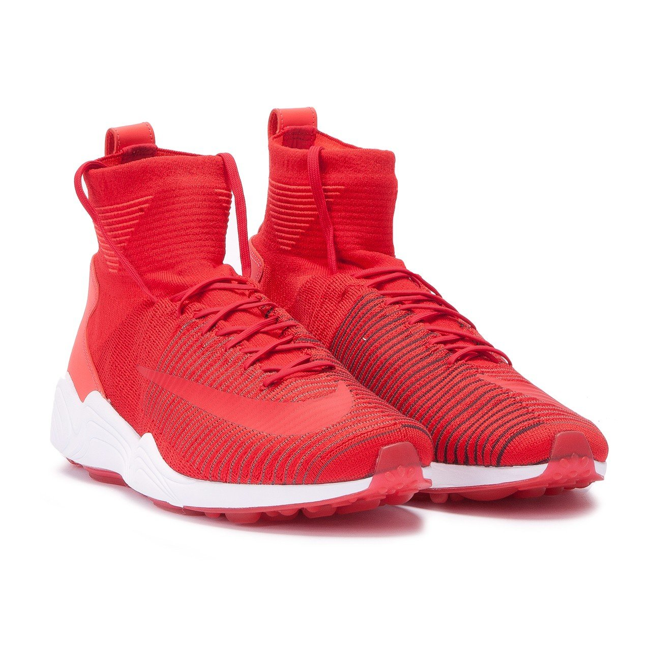NIKE Zoom Mercurial Xi Fk Mens Hi Top Trainers 844626 Sneakers Shoes B01HHIITHS 8 D(M) US|University Red / University Red-dark Grey