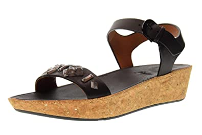 FitFlop Linny Slide Crystal Bronze Metallic-Taille 40 Les escarpins en cuir nappa A5EUHA