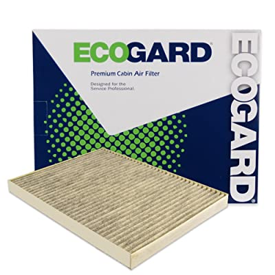 ECOGARD XC26205C Premium Cabin Air Filter with Activated Carbon Odor Eliminator Fits Buick Enclave 2008-2020 | Chevrolet Traverse 2009-2020 | GMC Acadia 2007-2016: Automotive