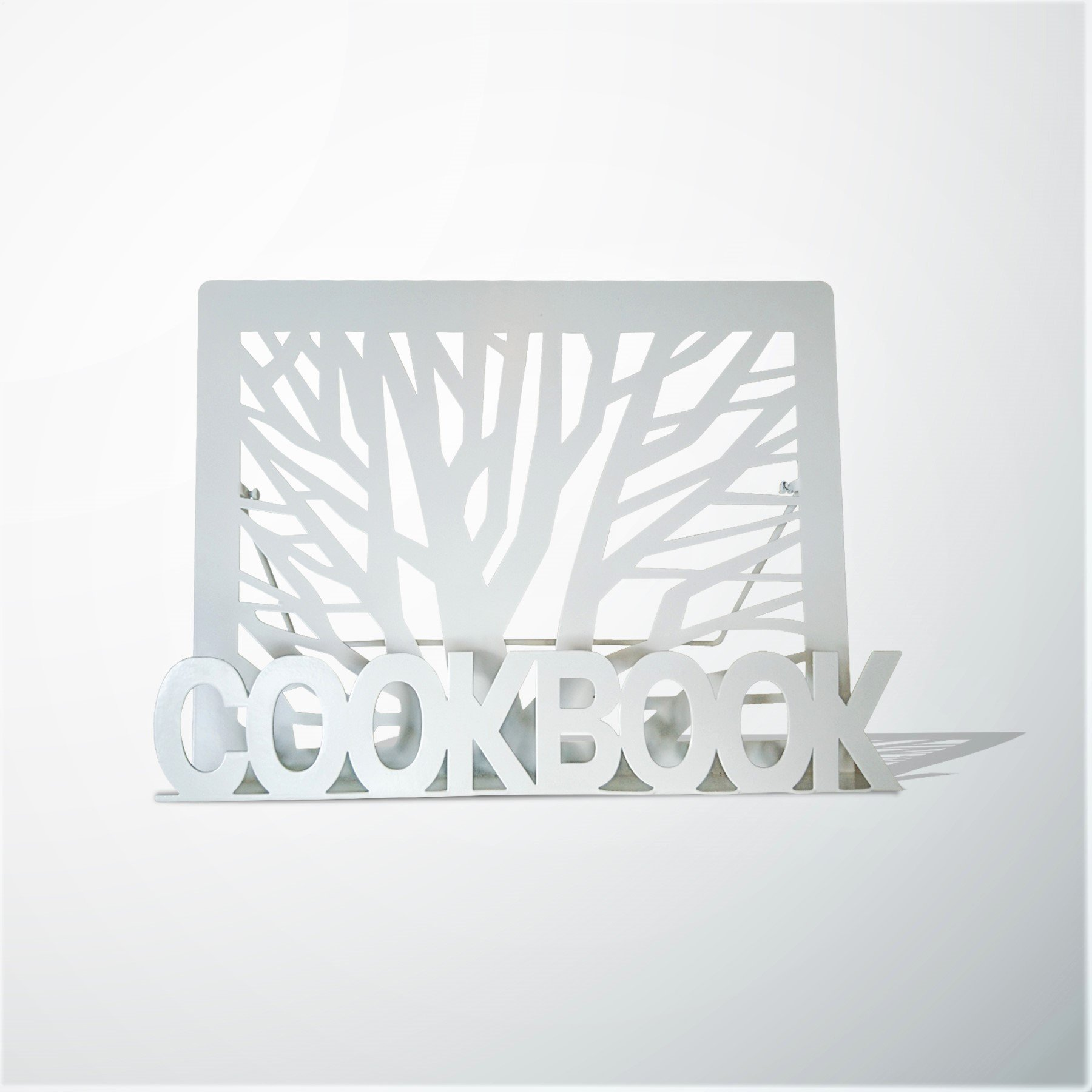 Gray Finish Esschert Design C8031 Cookbook Stand