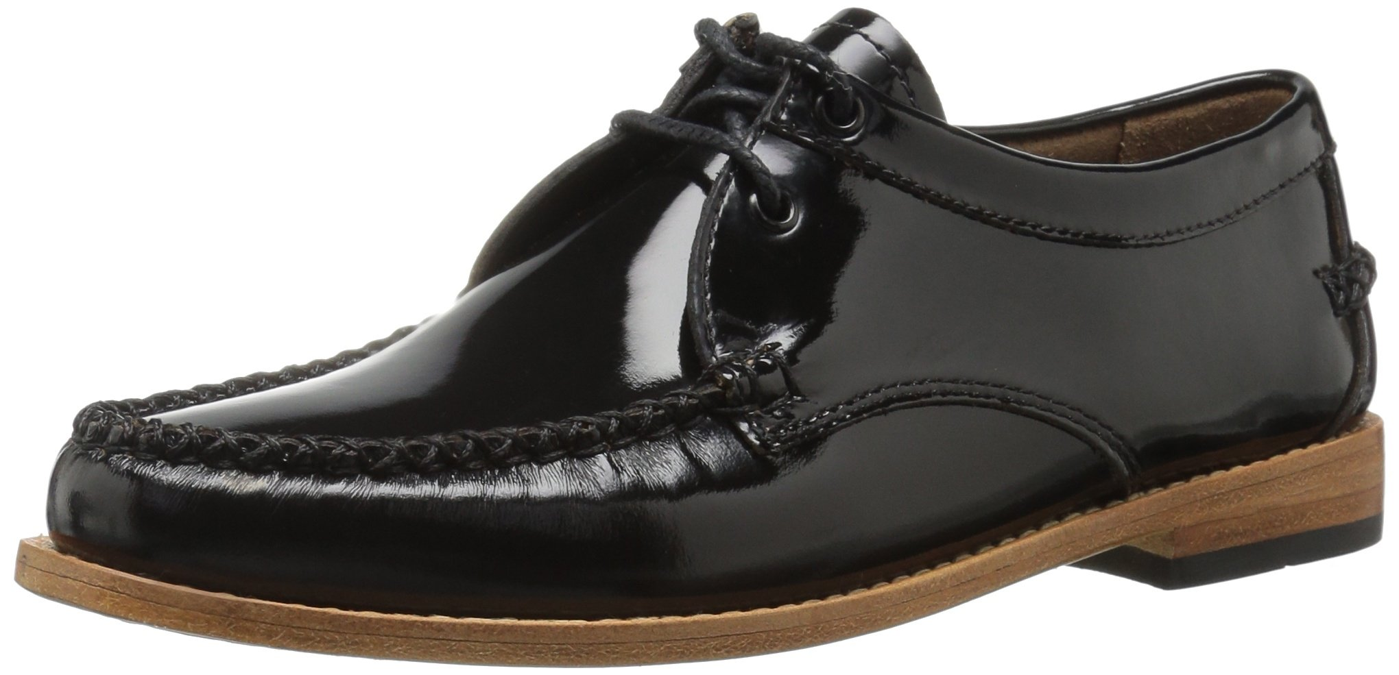 G.H. Bass & Co. Women's Winnie Tuxedo Loafer, Black, 8.5 M US
