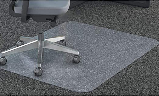120*120 Chair Mat Carpet Floor Protector Mats Transparent PVC Super Grip Anti-Static Durable /& High Impact Strength Perfect Plastic Clear for Home Office Desk Hallway Kitchen Carpet Floors Protection
