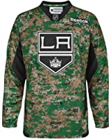 Los Angeles Kings Reebok NHL 2013 Edge Camouflage Pre-Game Warm Up Jersey