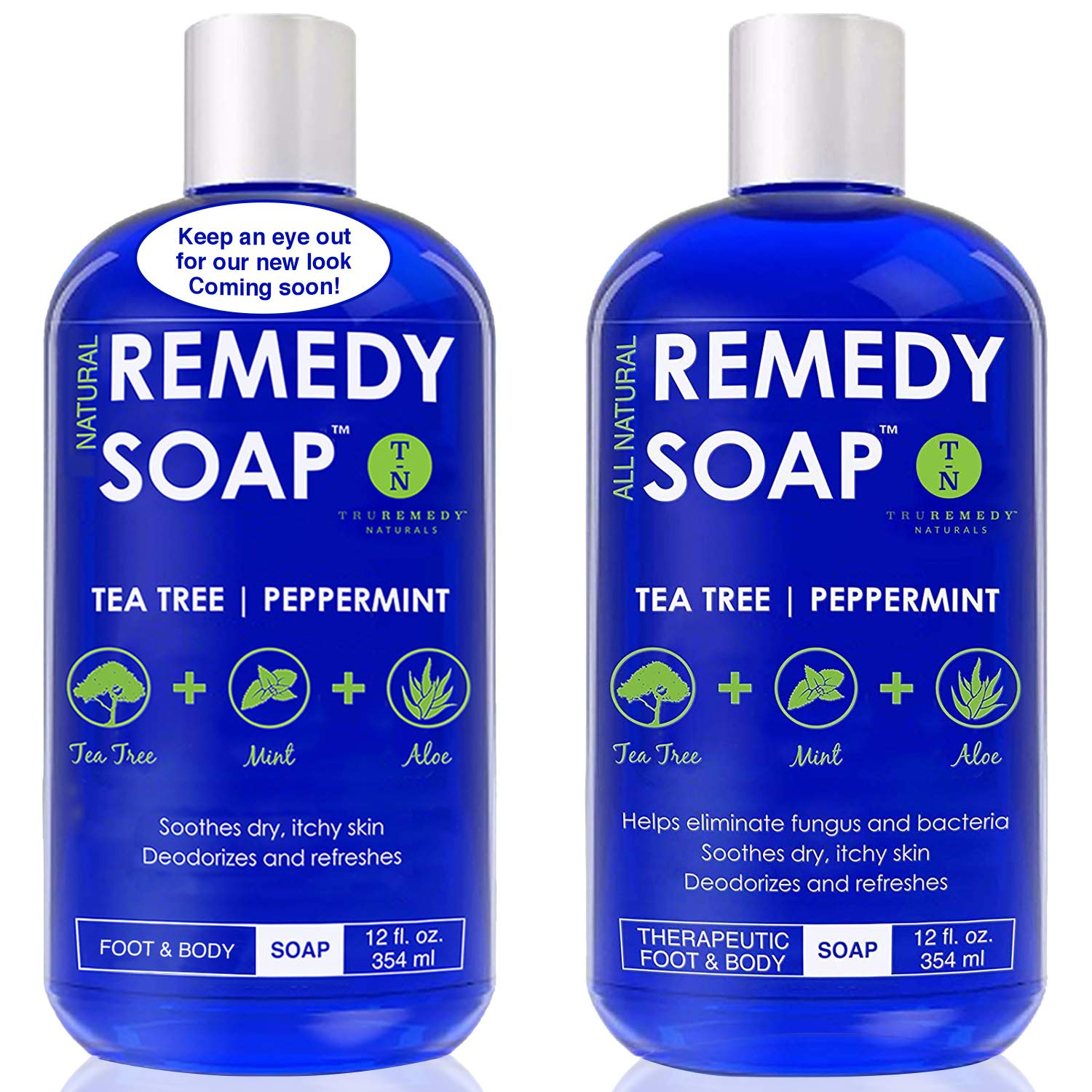 Remedy Antifungal Soap, Helps Wash Away Body Odor, Athlete's Foot, Nail  Fungus, Ringworm,