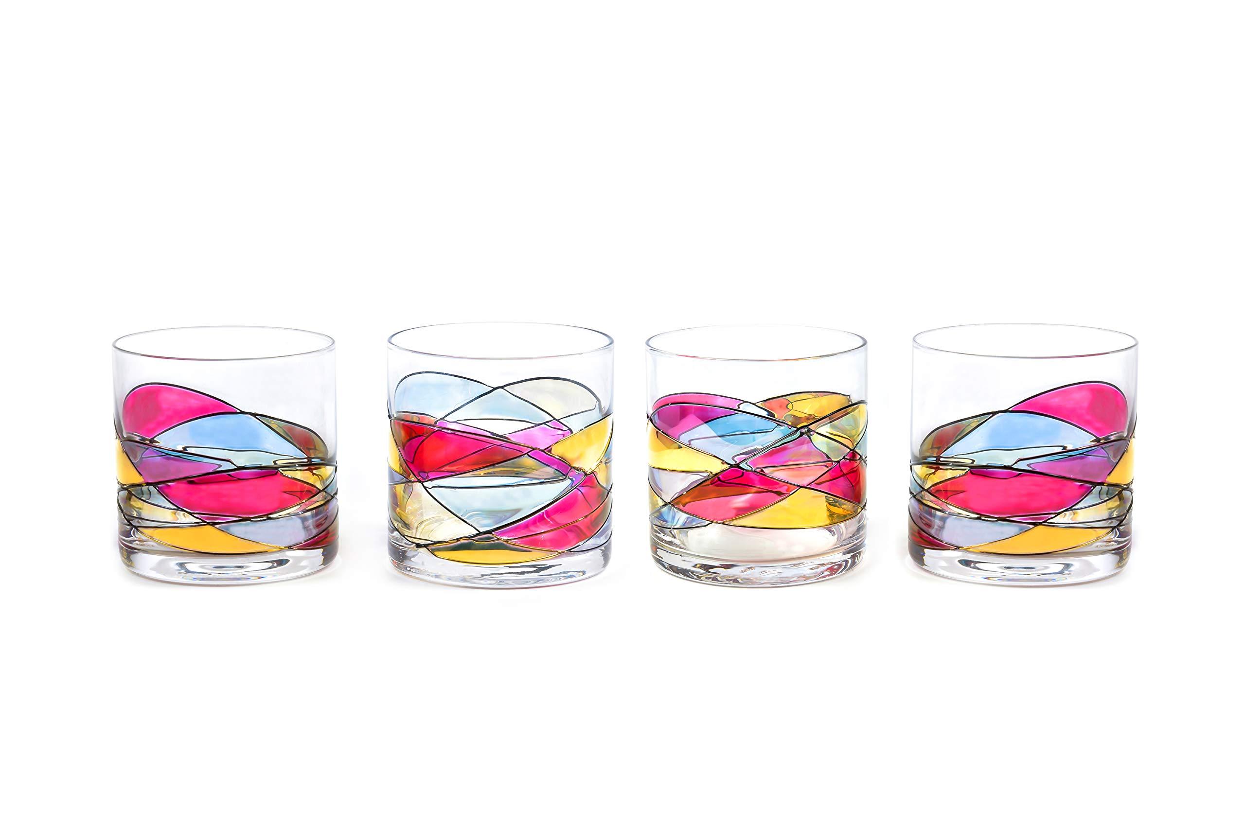 Whiskey Glass 12Oz ANTONI BARCELONA … (RED, 4)