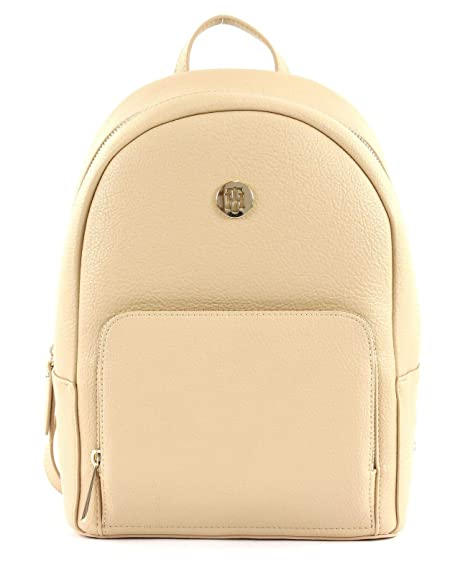 Tommy Hilfiger - Th Core Backpack, Mochilas Mujer, arena (Black & Warm Sand