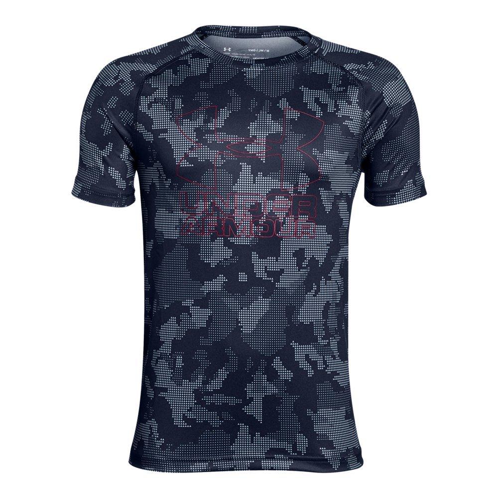 Under Armour Boys Big Logo Printed T-Shirt,Midnight