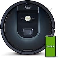 iRobot Roomba 981 robot odkurzający z 3-stopniowym systemem sprzątania, mapowanie pomieszczeń, tryb Carpet Boost, 2…