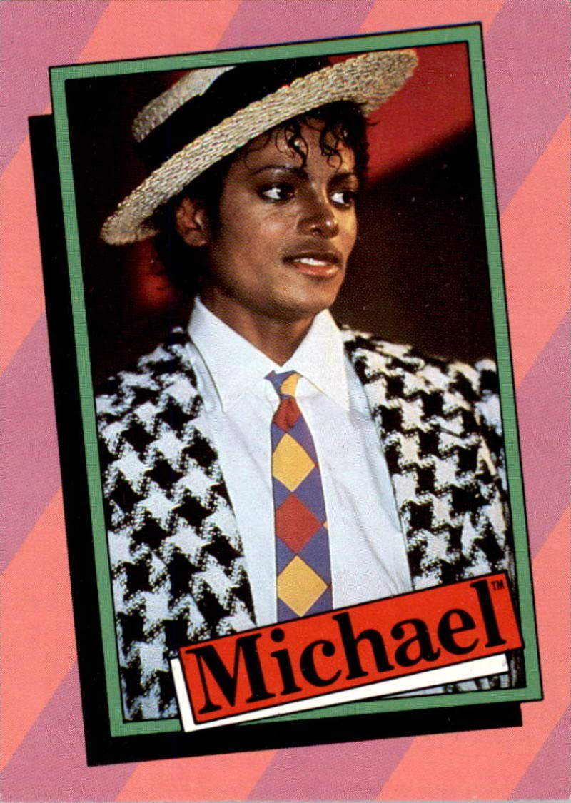 Michael Jackson 1984 Topps Series One 33 Card Set