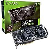 EVGA GeForce GTX 1080 Ti SC Black Edition GAMING, 11GB GDDR5X, iCX Cooler & LED, Design ottimizzato del flusso d'aria, Interlaced Pin Fin Scheda Grafica 11G-P4-6393-KR