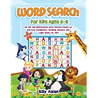 Word search for kids ages 6-8: 40 Fun and Educational Word Search Puzzle to Improve Vocabolary, Spelling, Memory and…