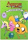 Anker Adventure Time Colouring Book, Plastic, Multi-Colour