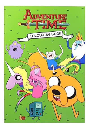 Anker Adventure Time Colouring Book, Plastic, Multi-Colour: Theworks ...