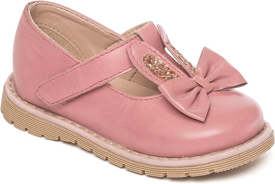 Mary Jane - Zapatillas Inteligentes de Piel para niña, Tallas 4, 5, 6