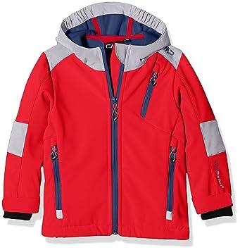 CMP joven chaqueta Softshell, otoño/invierno, niño, color rojo (ferrari), tamaño 104: Amazon.es: Deportes y aire libre