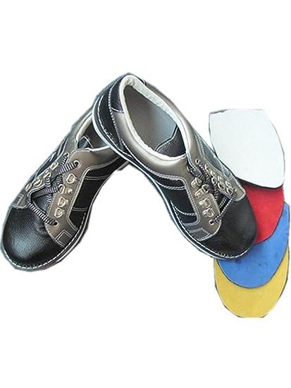 d001a687fd6b Amazon.com   Interchangeable Sole Member Bowling Shoes (1pair count ...
