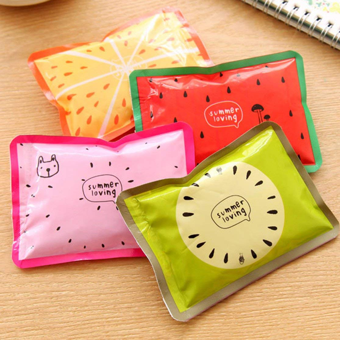 11cm Cute Cartoon Summer Cold Cooler Bags Multifunzione Riutilizzabile Gel Ice Bag Fresco Pacchetto Sanit/à Pain Relief LouiseEvel215 8