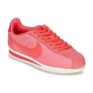 f135f44e8ac40c Nike Women s WMNS Classic Cortez Nylon Fitness Shoes Green  Amazon ...