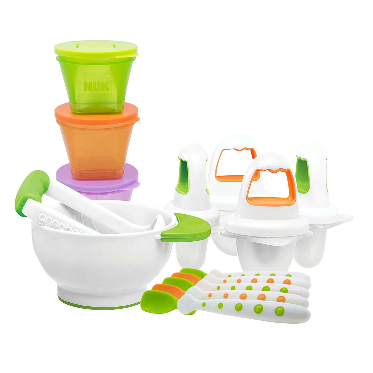 Annabel Karmel by NUK Baby Weaning Starter Set Mapa Spontex (UK) Ltd 10759143