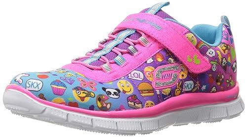 Skechers Skech Appeal Pixel Princess, Zapatillas de Running para Niñas, (Multicolour), 25 EU: Amazon.es: Zapatos y complementos