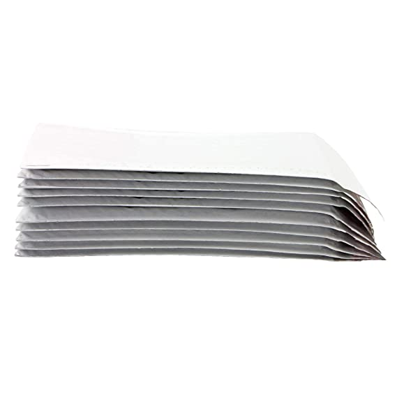 500 CD POLY BUBBLE MAILERS ENVELOPES 6.5X8 WHITE