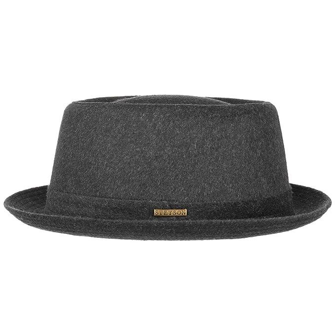 Stetson Sombrero Wool Pork Pie Mujer Hombre  80d7e104977