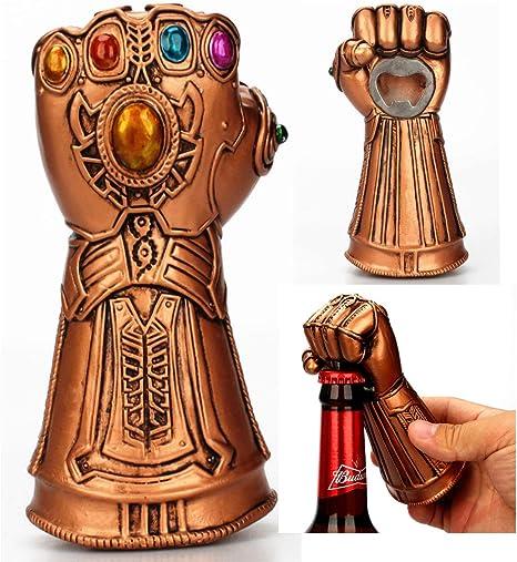 Amazon De Creative Infinite War Thanos Handschuhe Faustoffner Bierflaschenoffner Cool Beer Cola Wein Cap Opener Geschenk Fur Marvel Avengers Fans