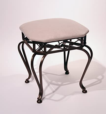 Terrific Enstyle Galano Vanity Stool Bronze Caraccident5 Cool Chair Designs And Ideas Caraccident5Info