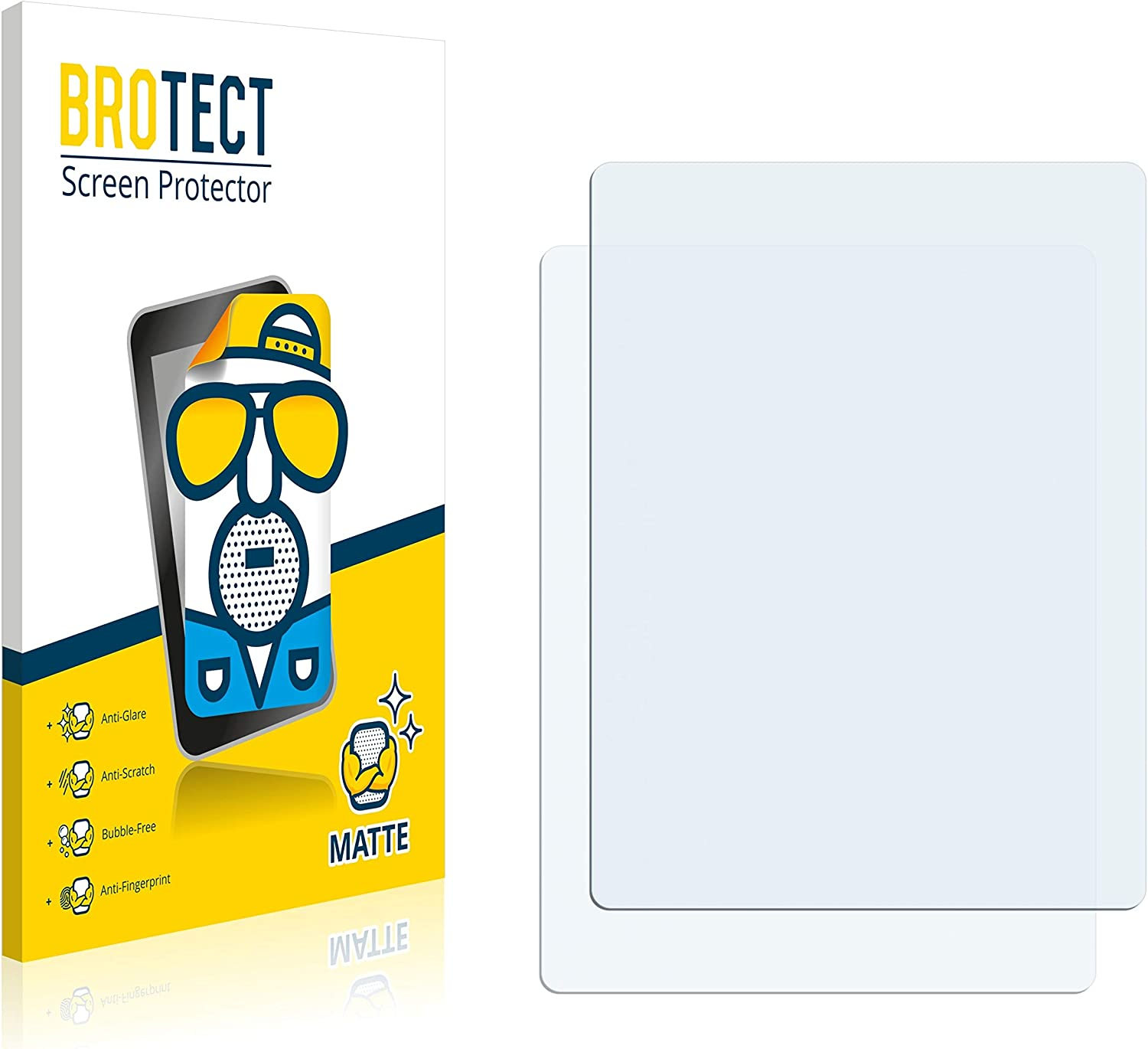 Matte Anti-Scratch 2X BROTECT Matte Screen Protector for VeriFone CCV Anti-Glare