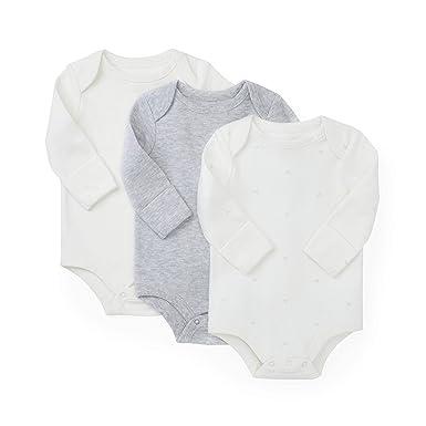 657af6019035 Amazon.com  Hope   Henry Layette 3-Pack Bodysuits  Clothing