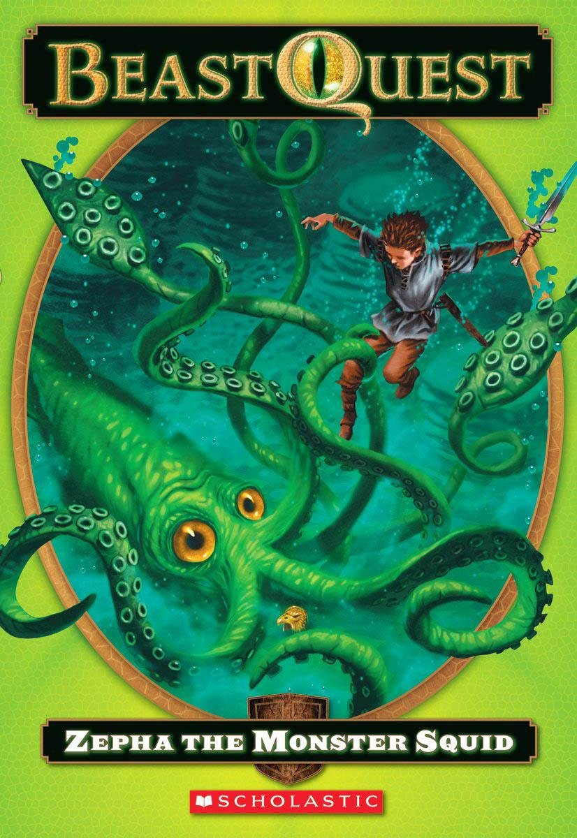 Zepha The Monster Squid (Turtleback School & Library Binding Edition) (Beast Quest) pdf epub