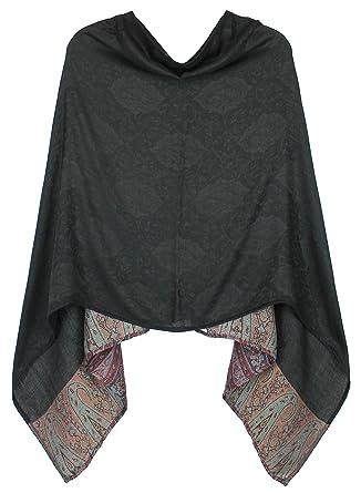 5cf8bbdf166c24 dy mode Eleganter Poncho Cape für Damen weich