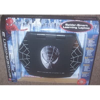 Black Spider Man 3 Smart Learning Laptop: Toys & Games