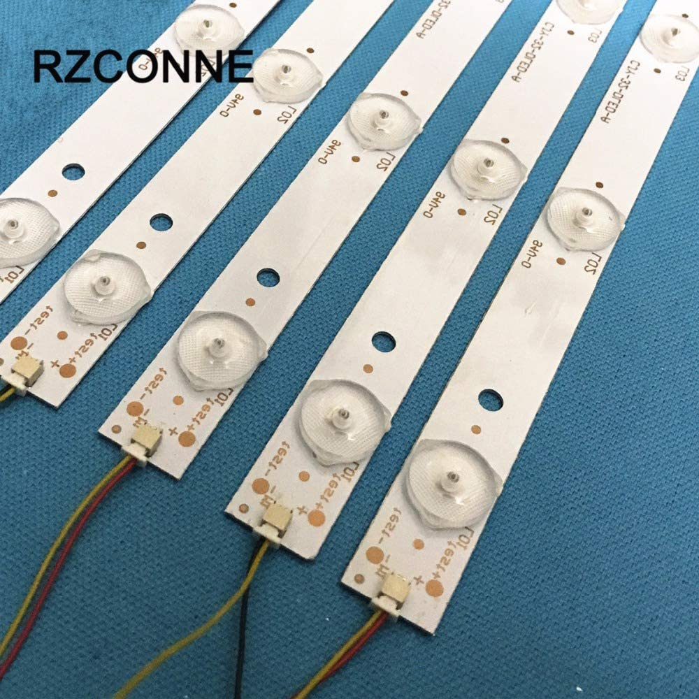 Cable Length: Other ShineBear 630mm LED Backlight Lamps kit Aluminum Board w//Optical Lens Fliter for 32inch TV Monitor Panel 6pcs LED Strips Driver Board