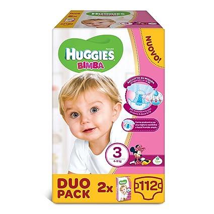 Huggies - Bimba - Pañales - Talla 3 (4-9 kg) - 2