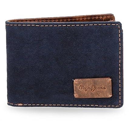 Pepe Jeans 7123161 Line Monedero, 11 cm, 0.09 litros, Azul ...