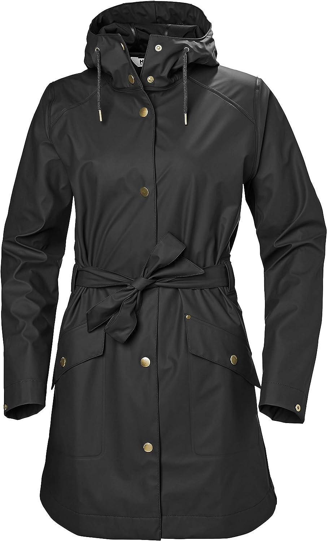 Helly-Hansen womens Kirkwall Ii Modern Fully Waterproof Windproof Hooded Raincoat Jacket