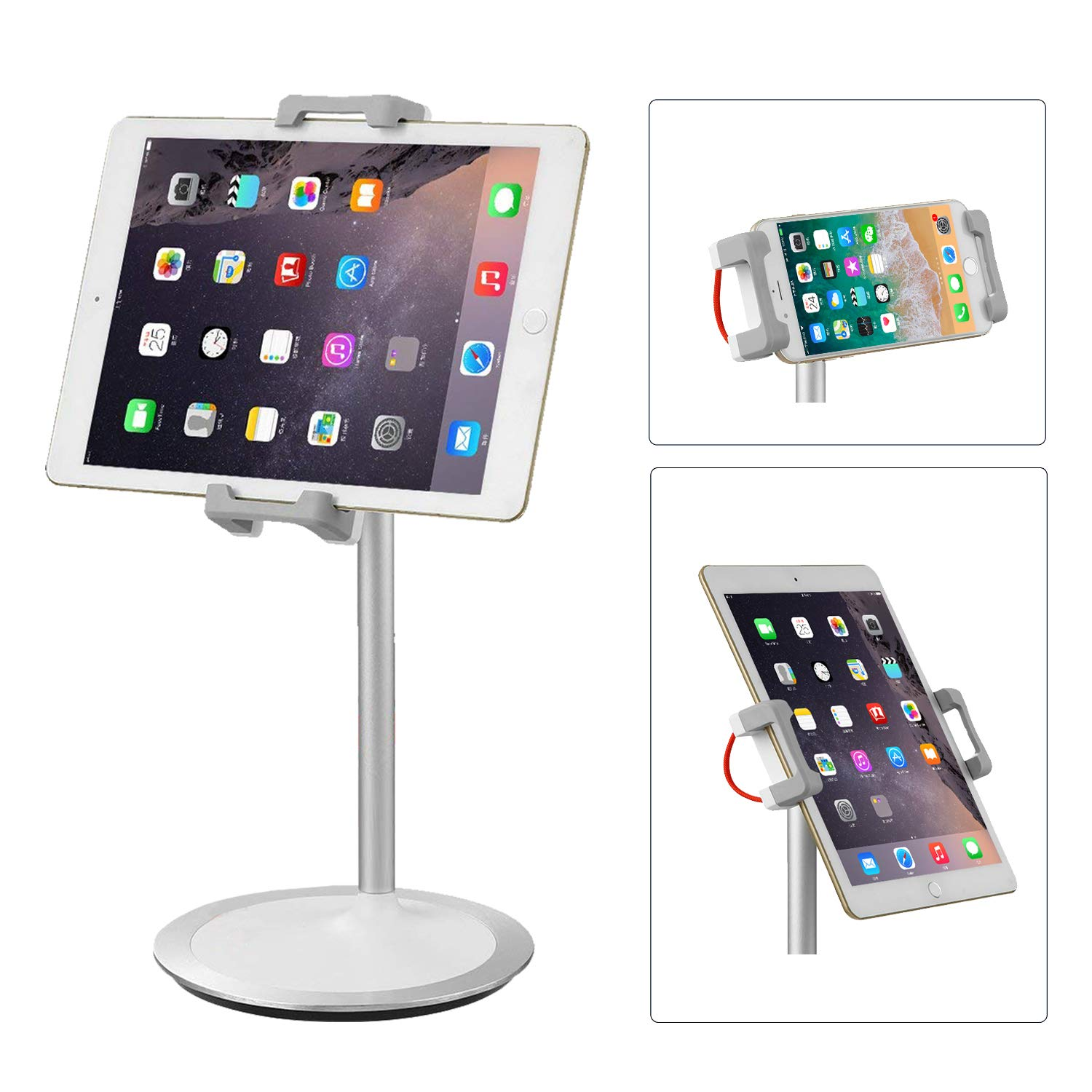 Suptek Stylish Aluminum Tablet Stand Cell Phone Stand