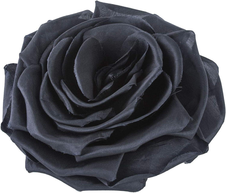 Max Mara Womens Zero Rose Brooch