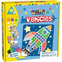 Orb Factory My First Sticky Mosaics Vehicles