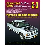 Chevy S-10 & GMC Sonoma Pick-ups (94-04). Inc. S-10 Blazer & GMC Jimmy (95-05), GMC Envoy (98-01) & Olds Bravada/Isuzu…