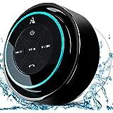 XLEADER SoundAngel Mate - Premium 5W Shower Speaker IPX7 Waterproof Bluetooth Speaker with Suction Cup, 3D Crystal Sound…